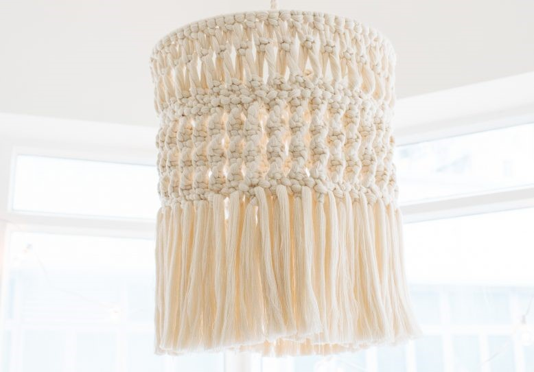 Bedroom-ideas-diy-lampshade