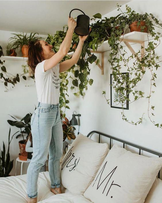 Bedroom-ideas-hanging-plants