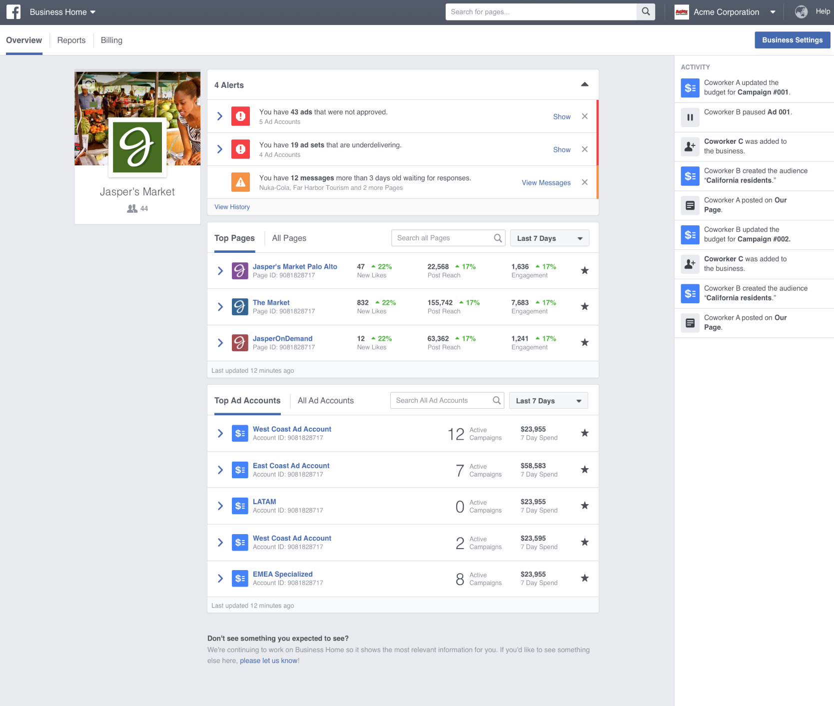 How to set up Facebook Business Manager - Cavera Inc