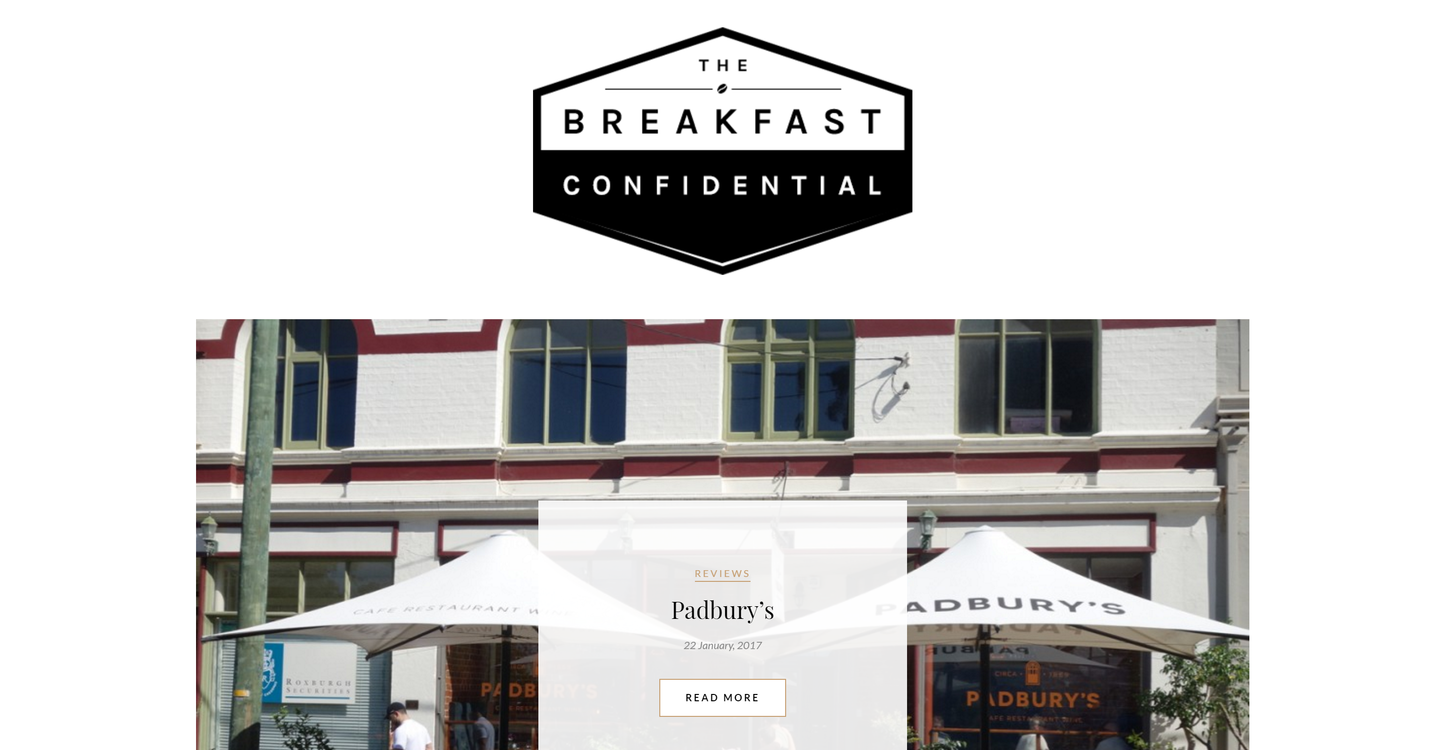 The Breakfast Confidential logo