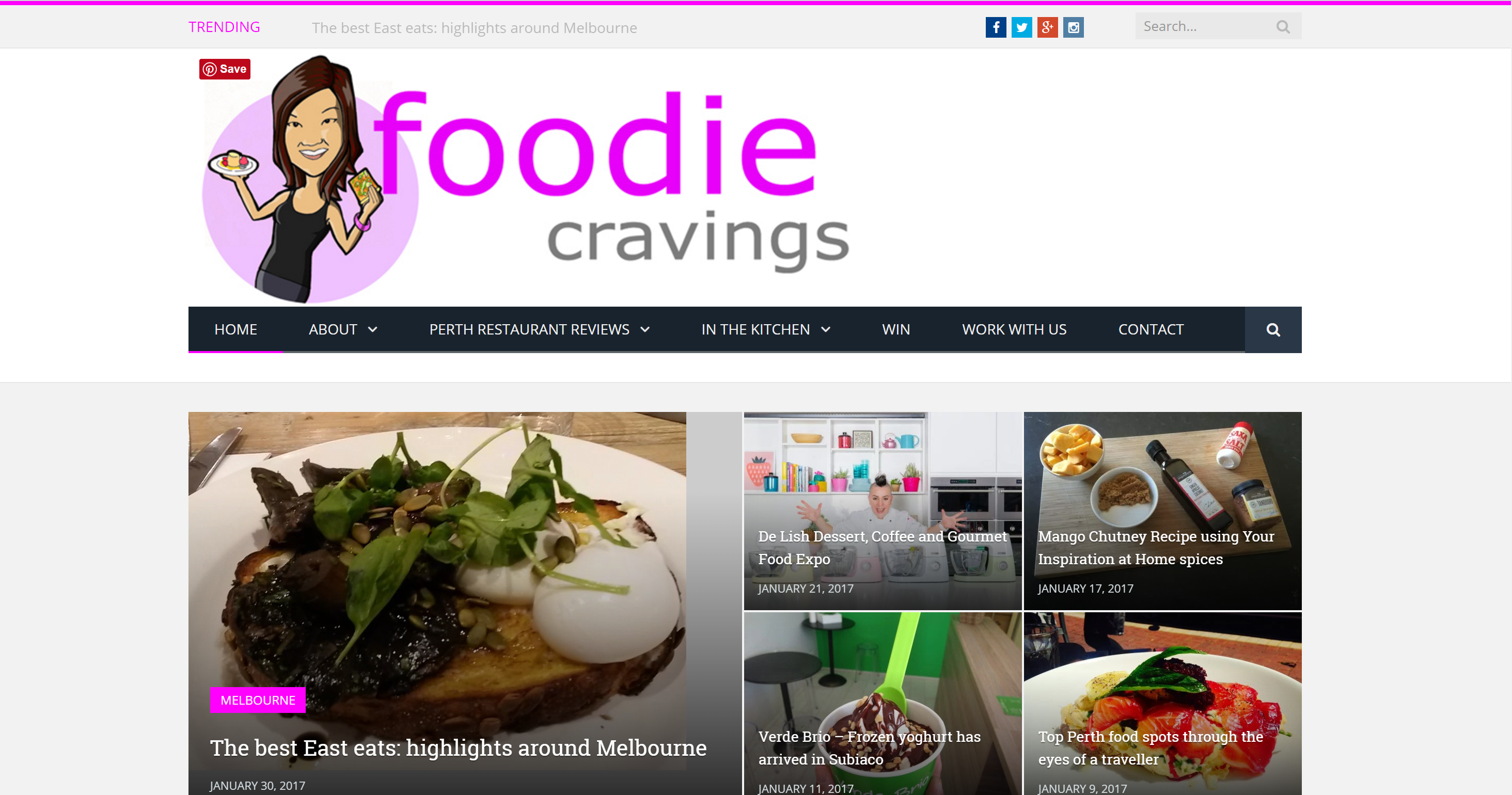 Foodie Cravings logo