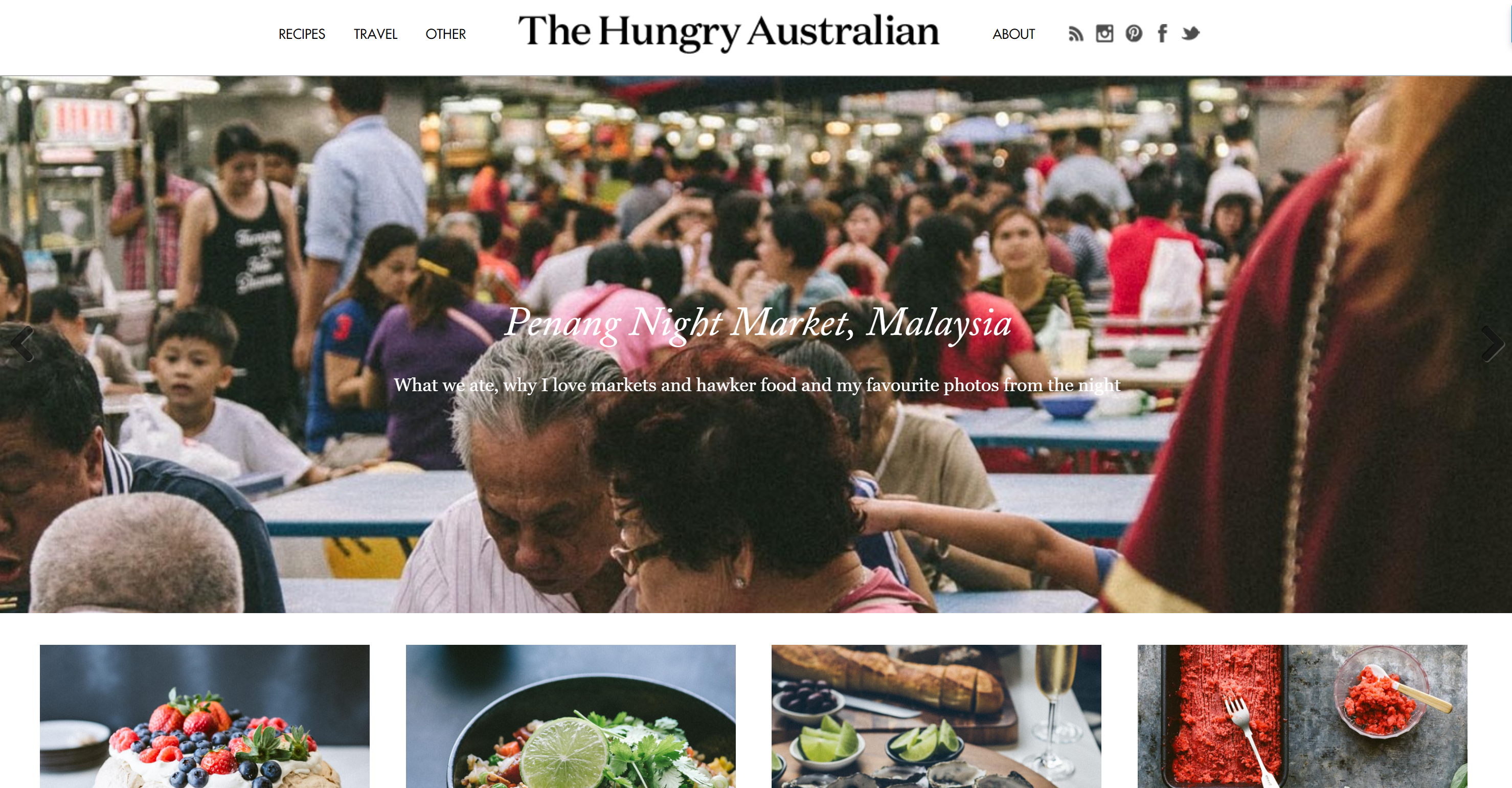 The Hungry Australian logo
