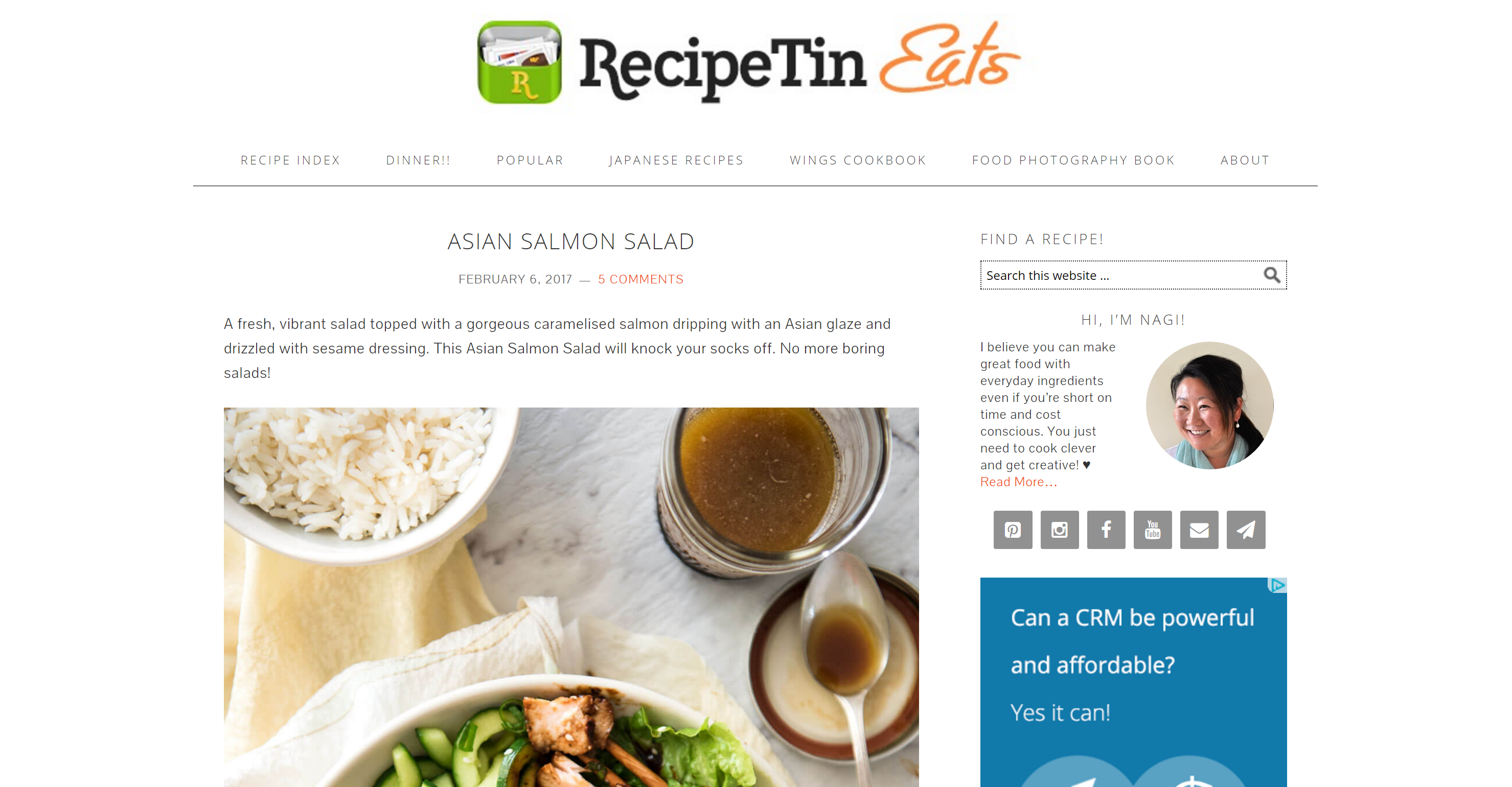 Recipe Tin Eats logo